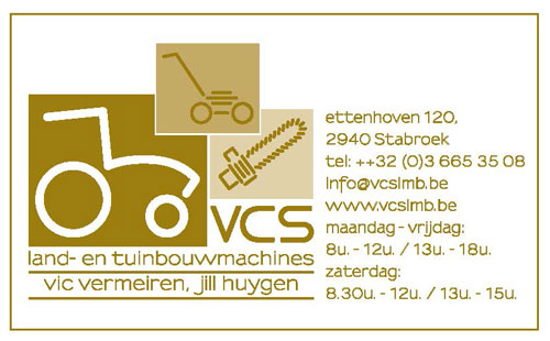 VCS Land-en tuinbouwmachines